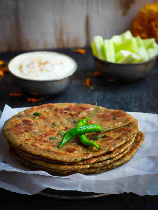 Kuttu Aloo Paratha | vrat ka Khana | Indian fasting food | glutenfree vegetarian healthy recipe