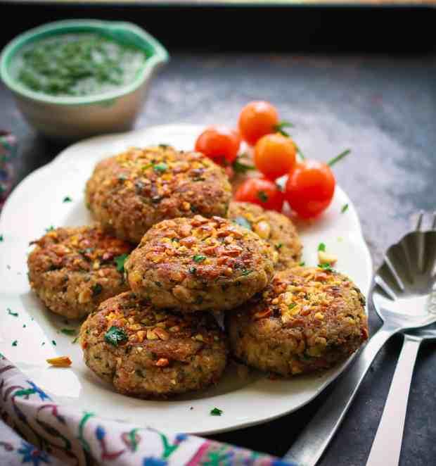 Raw Banana & Millet Cutlet vrat ka khana Indian fasting food vegan glutenfree healthy recipe