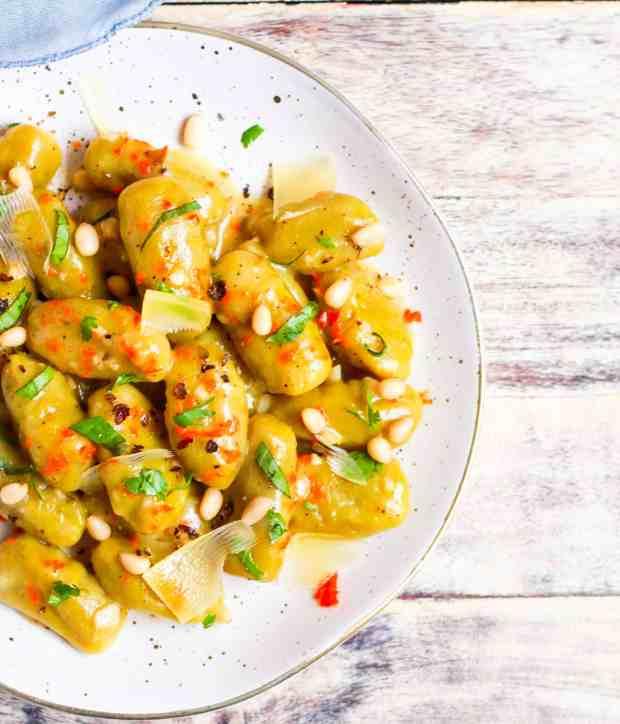 Sweet Potato Gnocchi Glutenfree Eggless Healthy Recipe