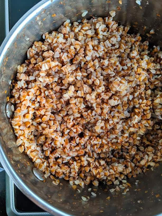 Cooked Buckwheat Groats
