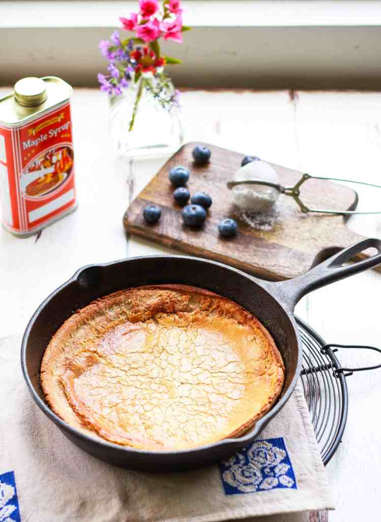 Dutch Baby Easy Glutenfree Recipe