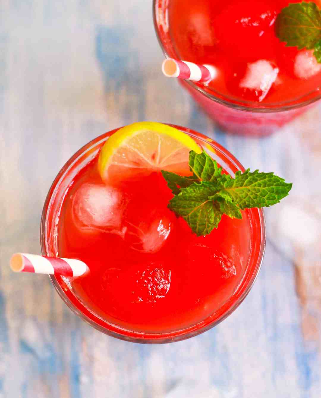 Watermelon Iced Tea easy cold brewed summer recipe