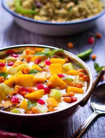Mango Raita - aam ka raita | summer recipe