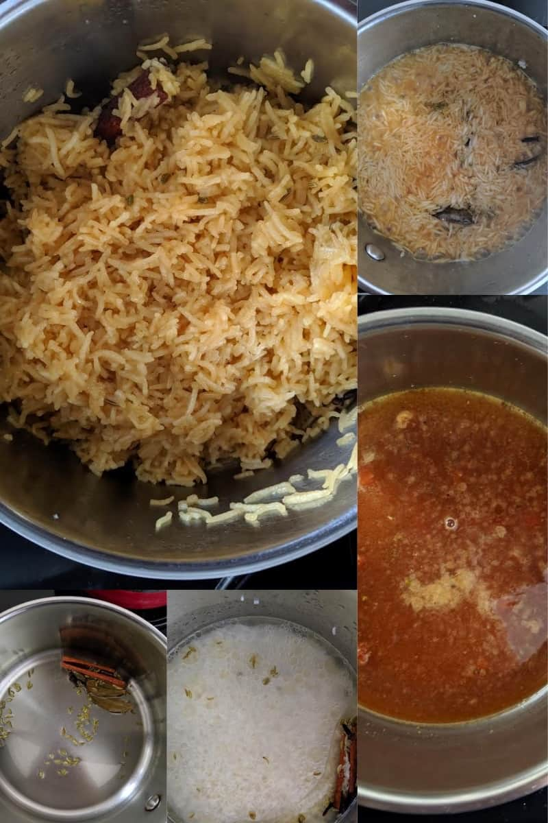 Process for making Jaggery Rice Gur Wale Chawal Indian Festive Dessert