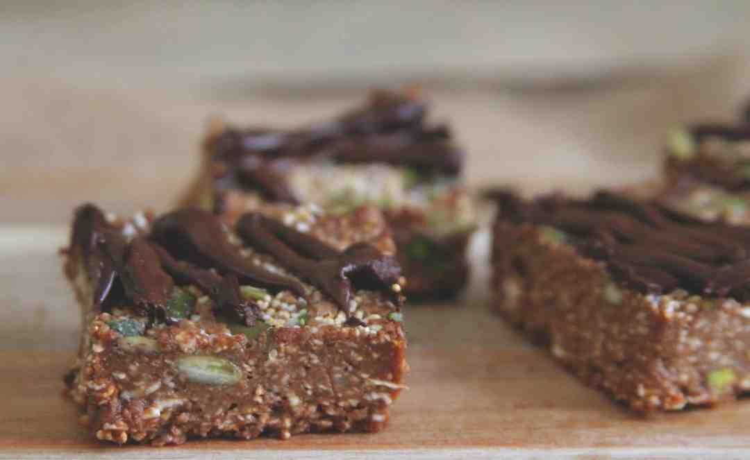 Chocolate Amaranth Bars