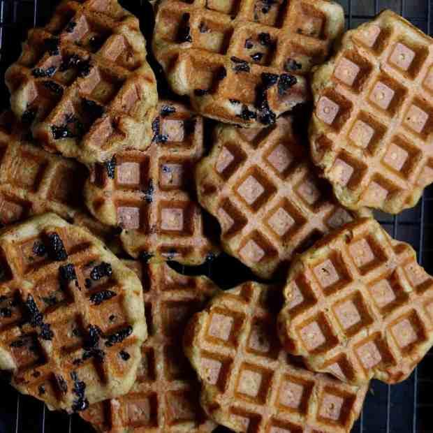 Apple Cinnamon Buckwheat Waffles