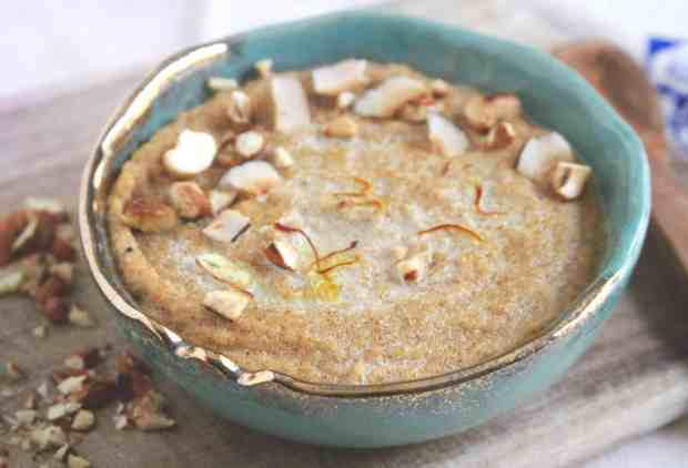 Suji Cashew Kheer/ Semolina Pudding
