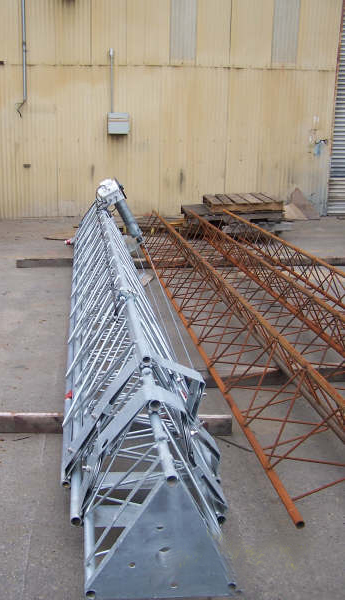 The First Tower Is A Free Standing Model While In The Second And Third Cases Will Be Maintained With Guy Wires