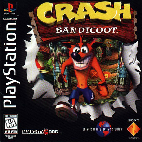 Crash Bandicoot PSX ISO Game PS1 for PC