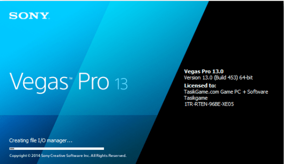 sony vegas pro 13 download crack