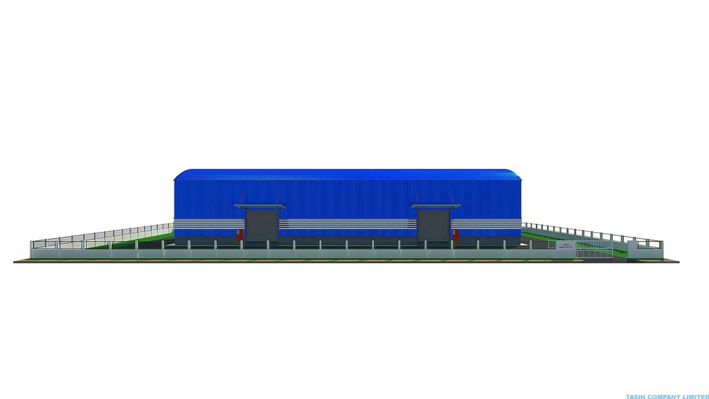 Save and Fast Warehouse construction