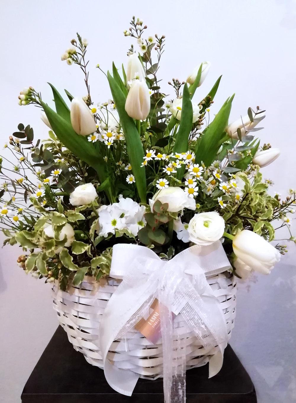 Tasini Fiorista - shop - cesto fiorito
