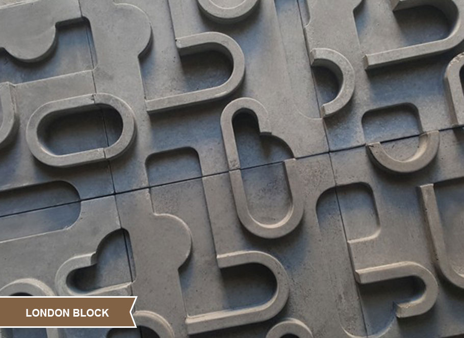 Seramik Blok Duvar Kaplama London Block
