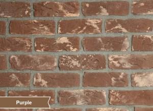 Eski Tuğla, Antik Tuğla, Tuğla Kaplama, Old Brick Purple