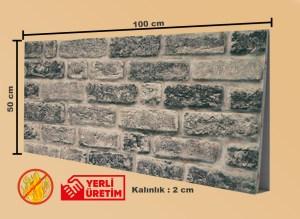 Tuğla Desenli Strafor, Tuğla Görünümlü Strafor, Tuğla Duvar Paneli, STD-171