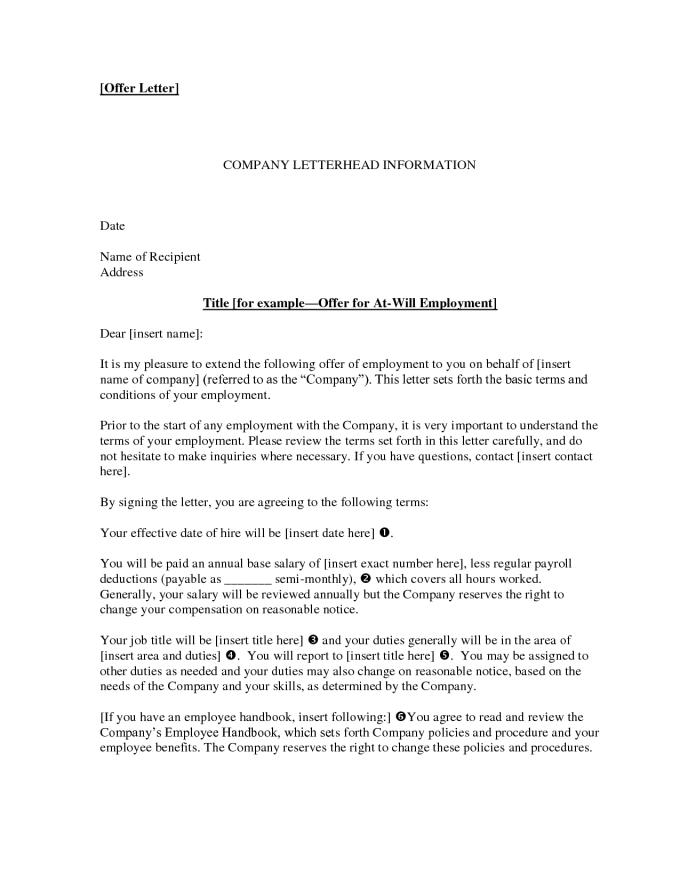 employer rescind offer letter sample klise thegreaterchurch co