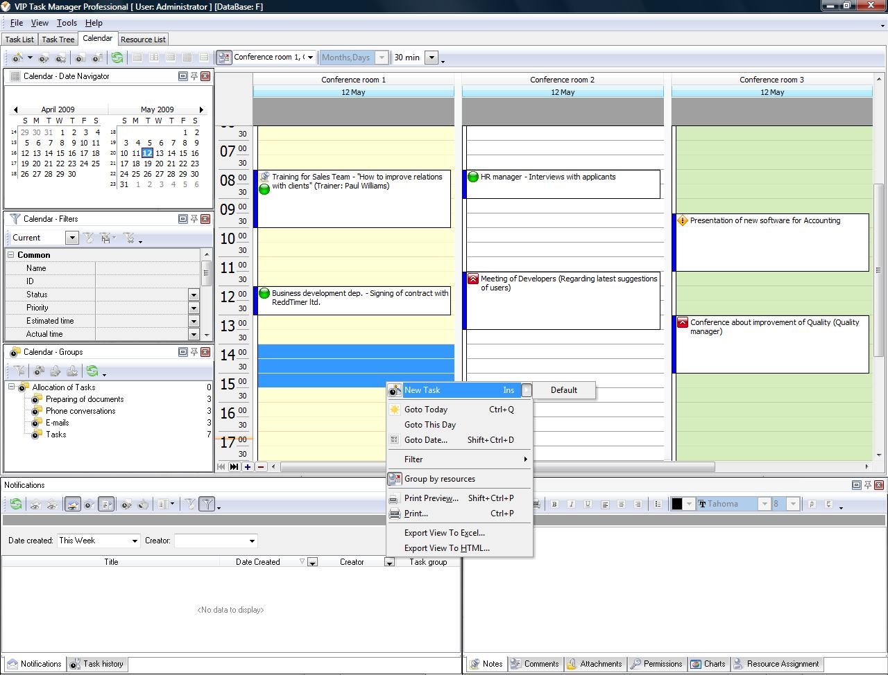 Hourly Day Planner Time Management Software As A