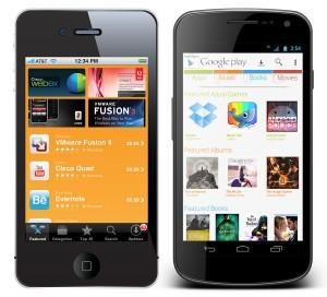 App Store on Smartphone