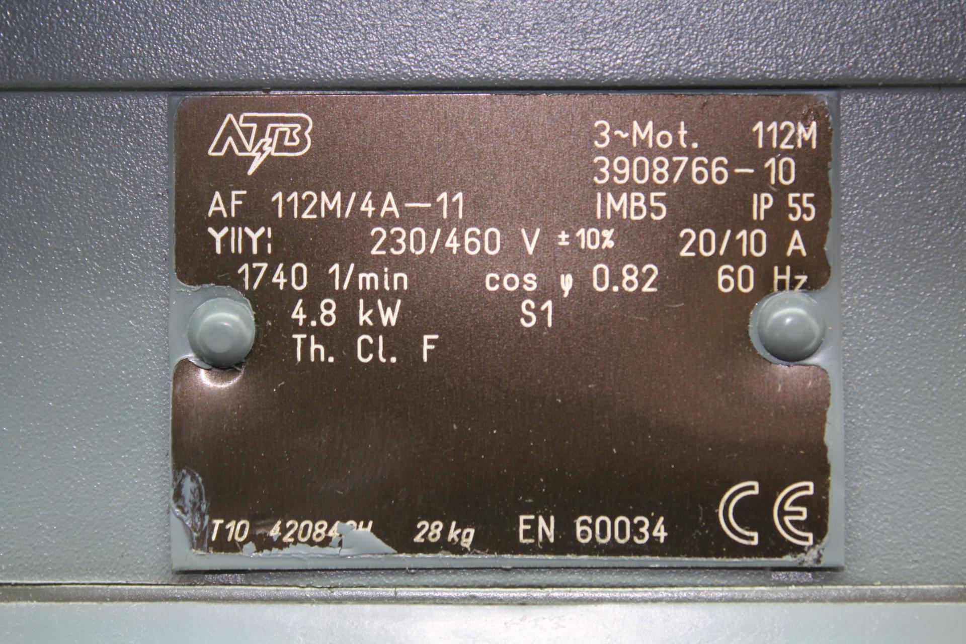 atb motor af 112m 4a 11 3908766 10 rh tasksurplus com AC Motor Wiring Diagram 3 Speed Electric Motor Wiring Diagram