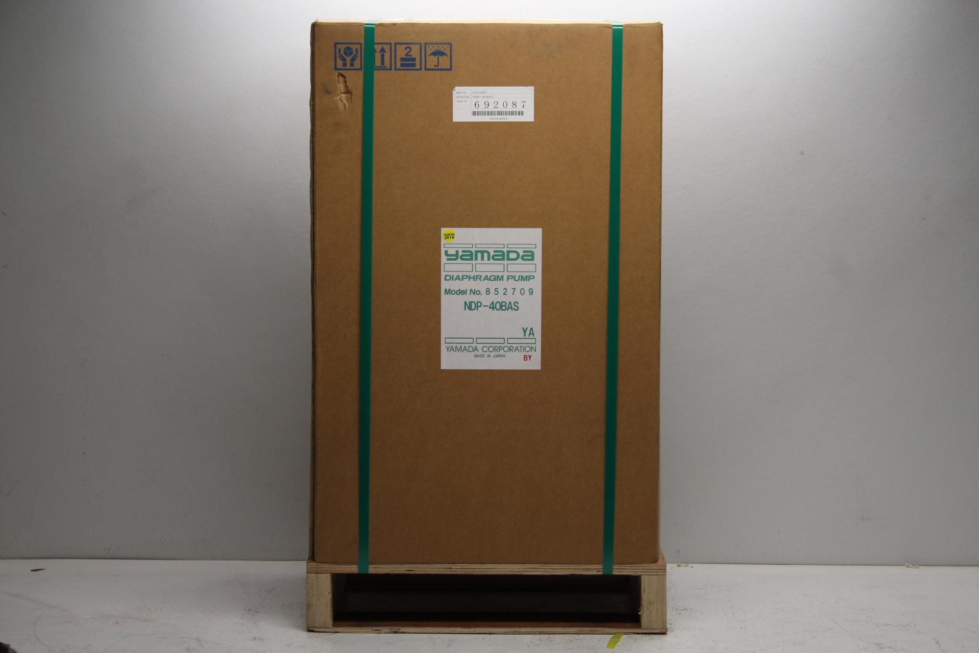 Yamada diaphragm pump model no 852709 description ndp 40bas sn 692087 ccuart Choice Image