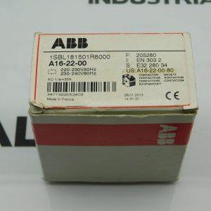 ABB 1SBL181501R8000 A16-22-00 Contactor