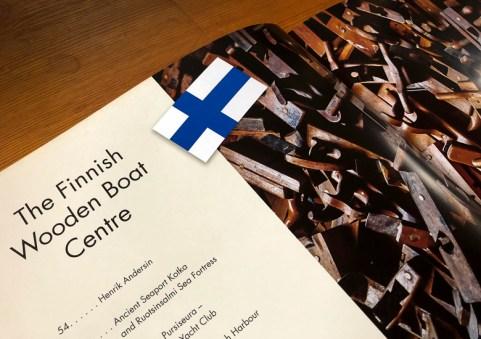 Suomen Puuvenekeskuksesta kertova aloitusaukeama