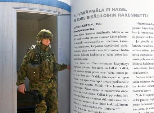 konttivessa Säkylässä, Porin prikaatin Camp Maurissa