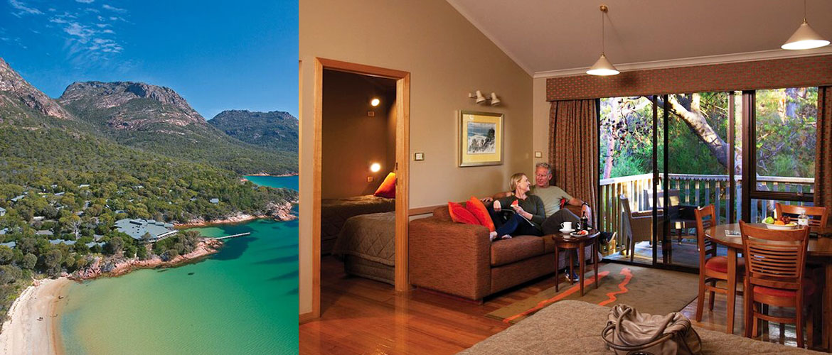 Coles Bay - Freycinet Lodge - 2 Room Family Cabin