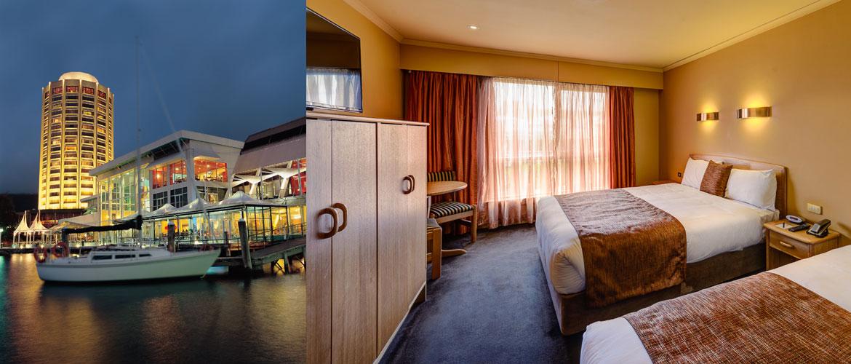 Hobart - Wrest Point Hotel - Motor Inn Room