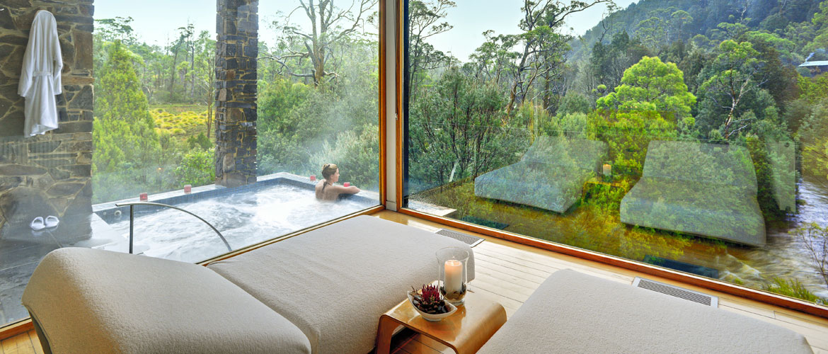 Tasmania's Luxury Spa - Waldheim Spa