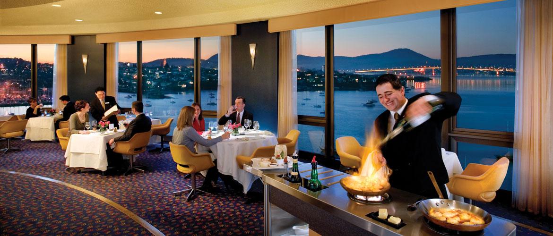Elegant Revolving Restaurant