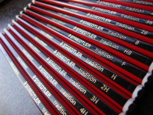 Staedtler tradition drawing pencil set