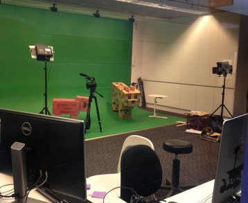 Green Screen at the Power House Museum Image - J.Merlino
