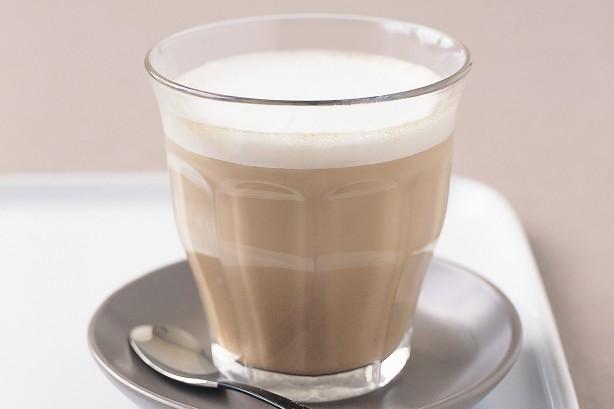 White-chocolate latte