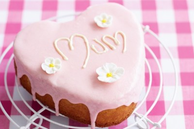 Heart-shaped Butter Cake Recipe - Taste.com.au