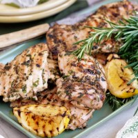 Recipe of the Week: Lemon & herb Barbecued chicken