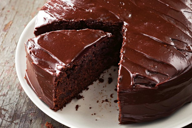 Image result for CHOCOLATE CAKE WITH RUM-SPIKED FIGS