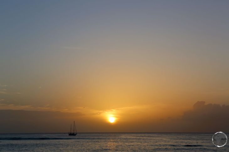Trinidad & Tobago Travel Guide: Sunset from Pigeon Point beach, Tobago