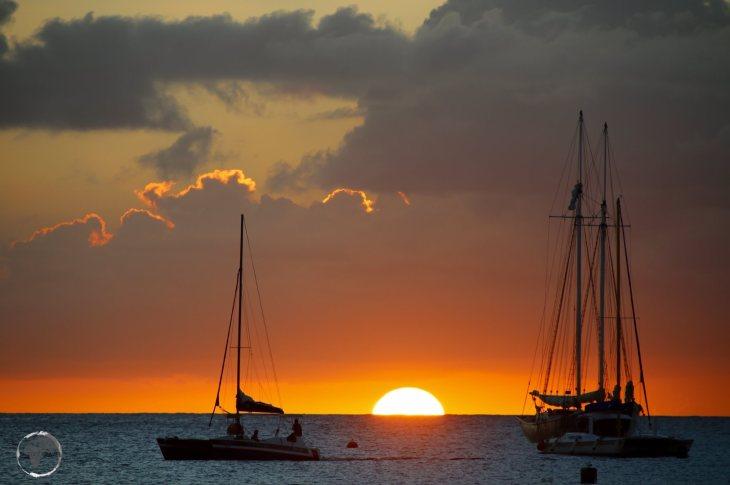 Sunset on the west coast