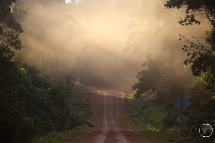 The 'highway' connecting Guyana with Brazil passes through the Iwokrama forest