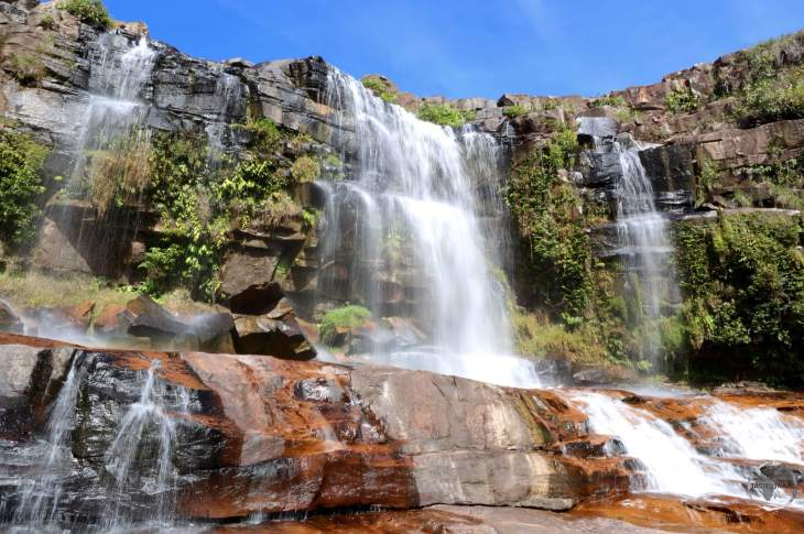 Gran Sabana Region (Venezuela) Travel Report: Waterfall in Canaima National Park