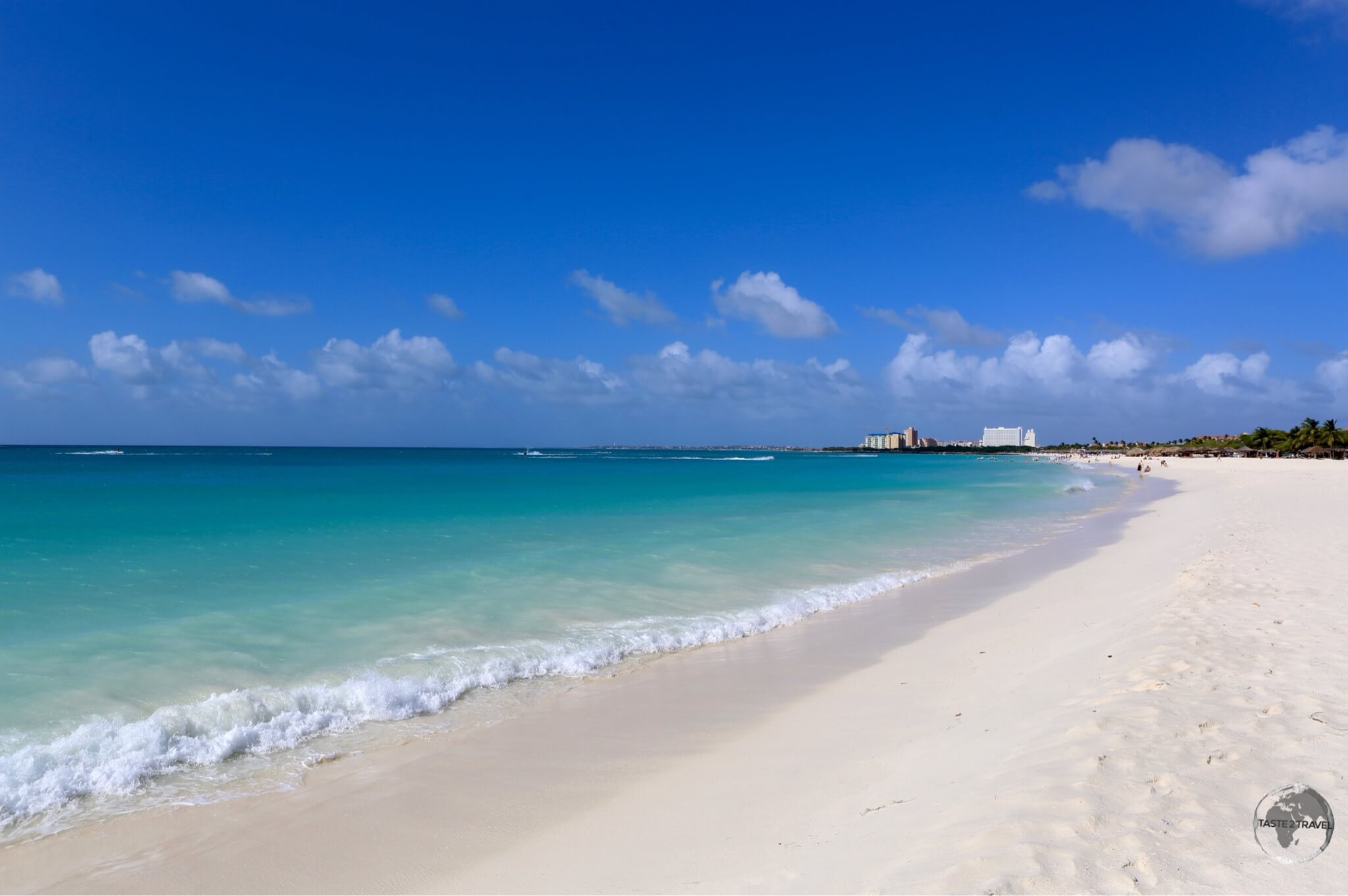 Divi beach is one of the finest beaches on Aruba.
