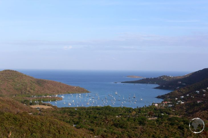 View over Coral Bay, St. John