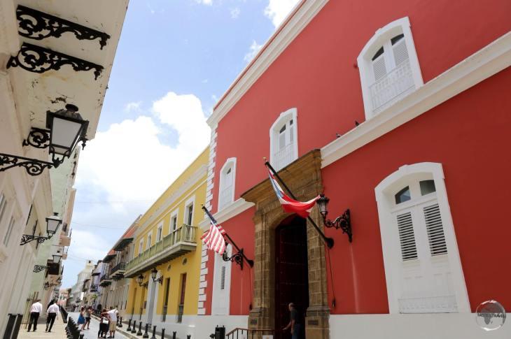 Old town of San Juan