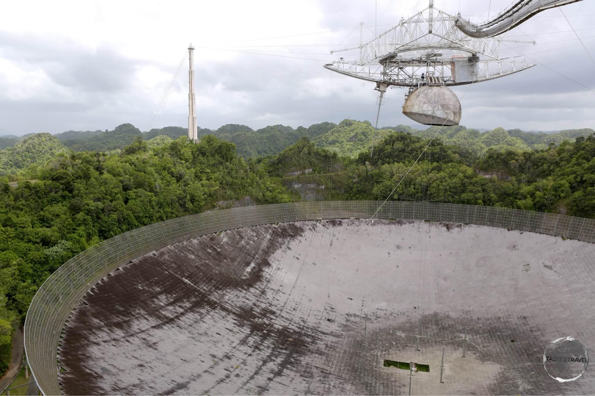 Arecibo observatory.