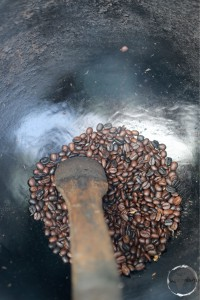 Roasting coffee in the Blue Mountains