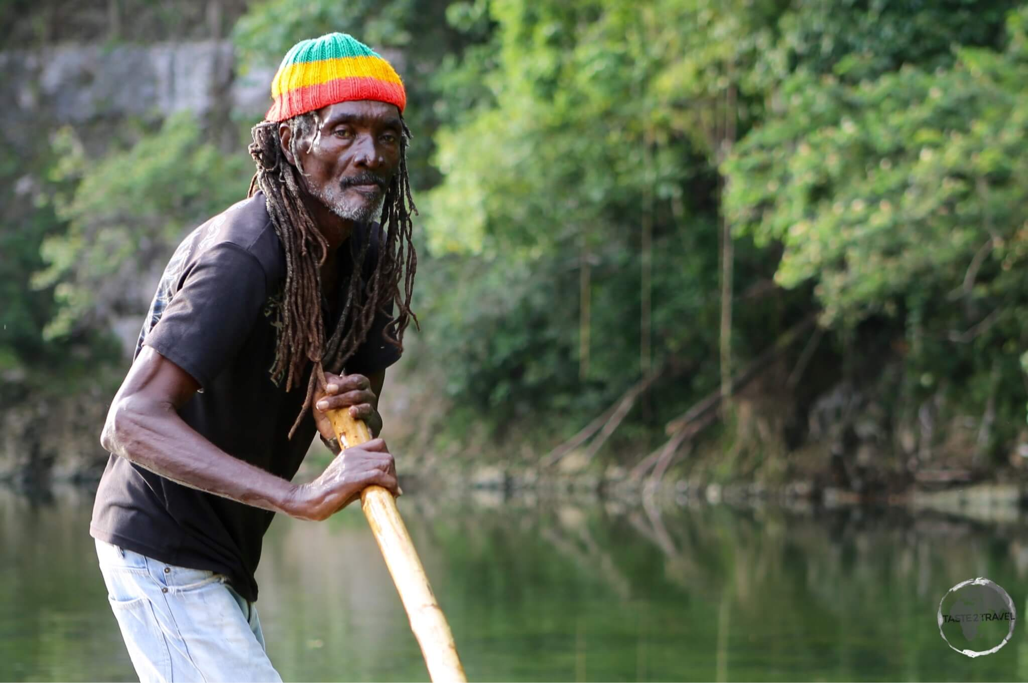 Rafting the Rio Grande with my 70-year old rasta guide.