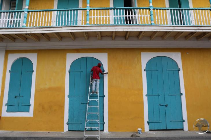 The old town of Cap-Haïtien was built by the same French settlers who later settled in New Orleans.