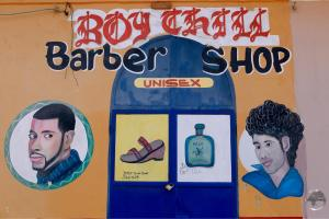 Barber shop in CAP