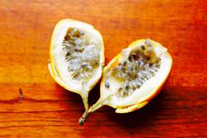 Bisected Granadilla